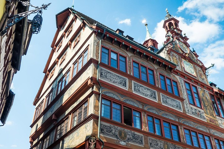 Historisches Rathaus in Tübingen