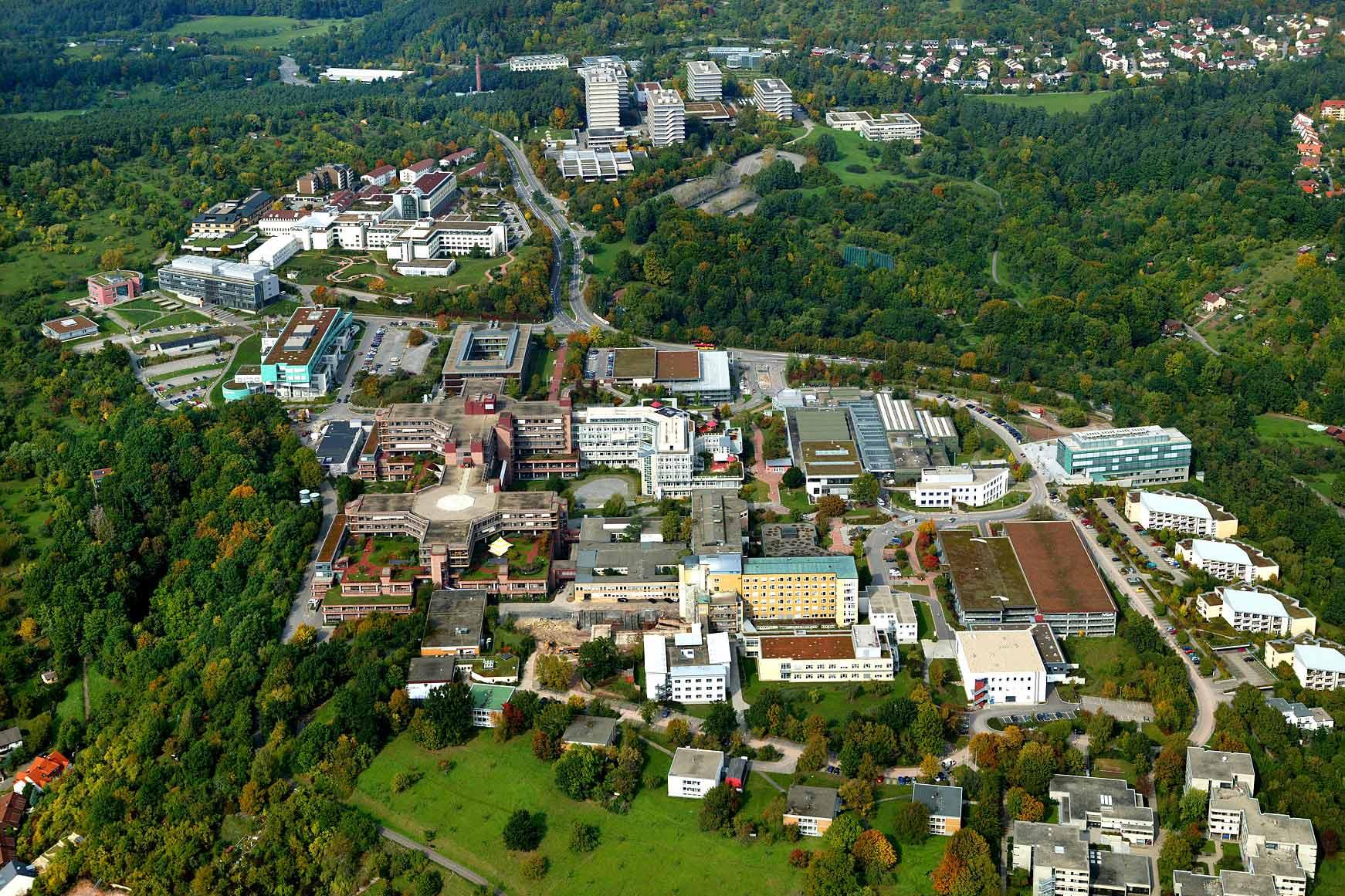 Um Tübingen herum: Rundfahrt