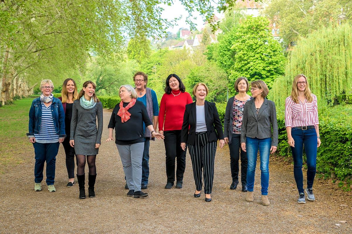 Das Team vom Bürger- und Verkehrsverein Tübingen