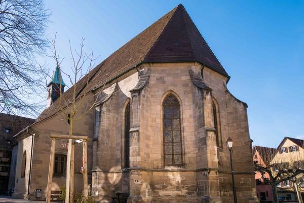 Auf dem Jakobsweg durch Tübingen
