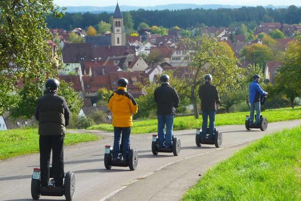 Segwayfahren in Tübingen