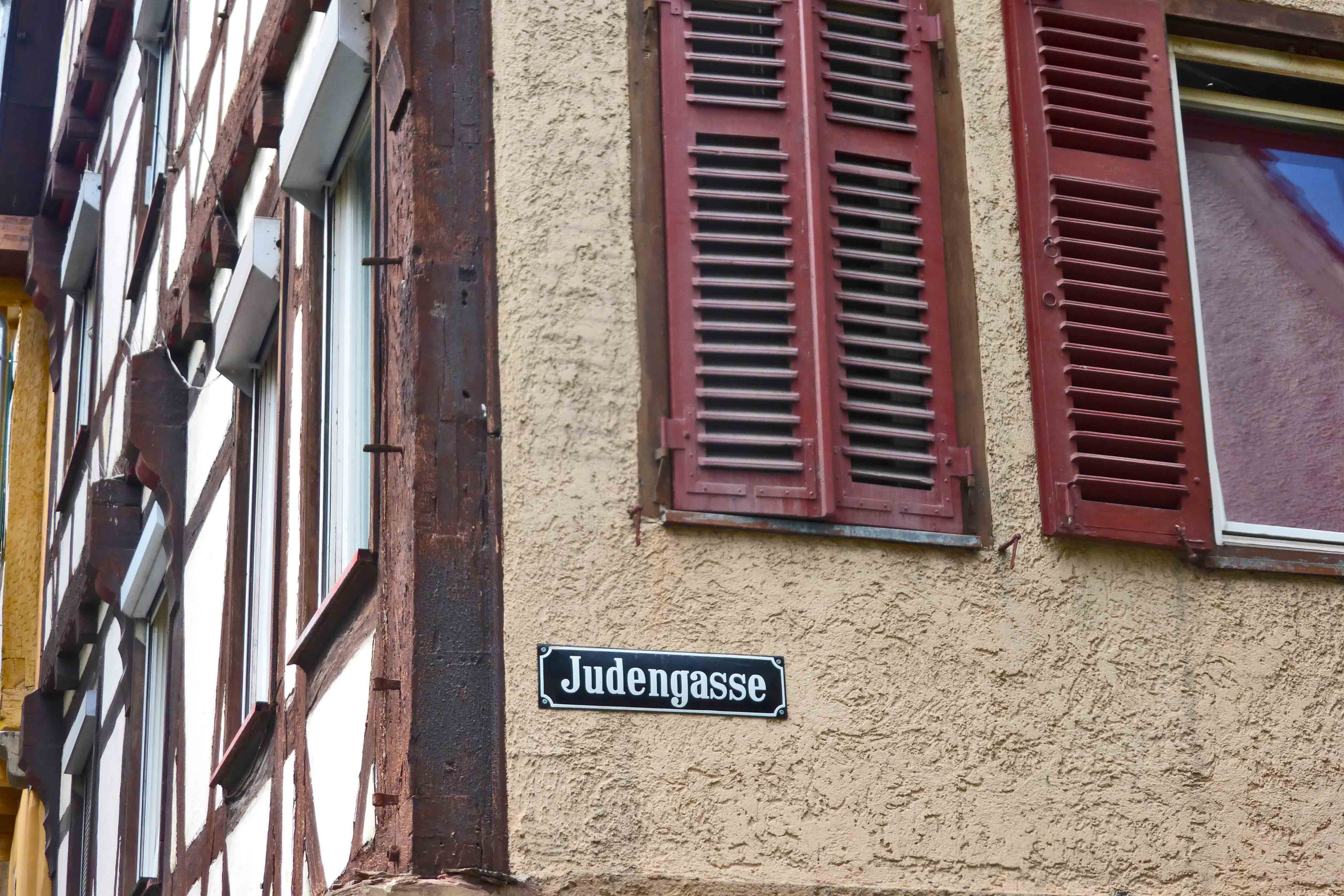 Judengasse in Tübingen