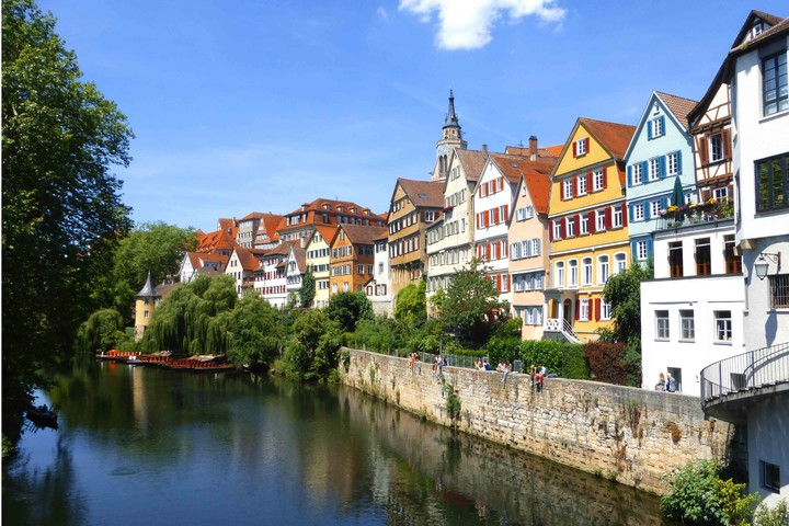 Tübinger Neckarfront