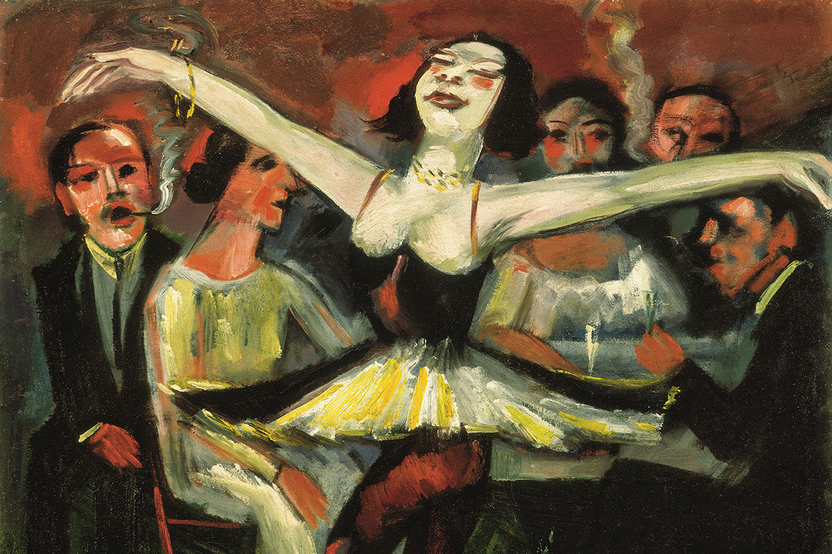 Tanz! Max Pechstein. Ausstellung in der Tübinger Kunsthalle