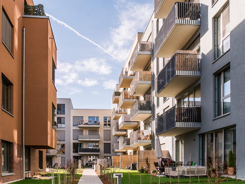 Neues Wohnviertel Alter Güterbahnhof in Tübingen