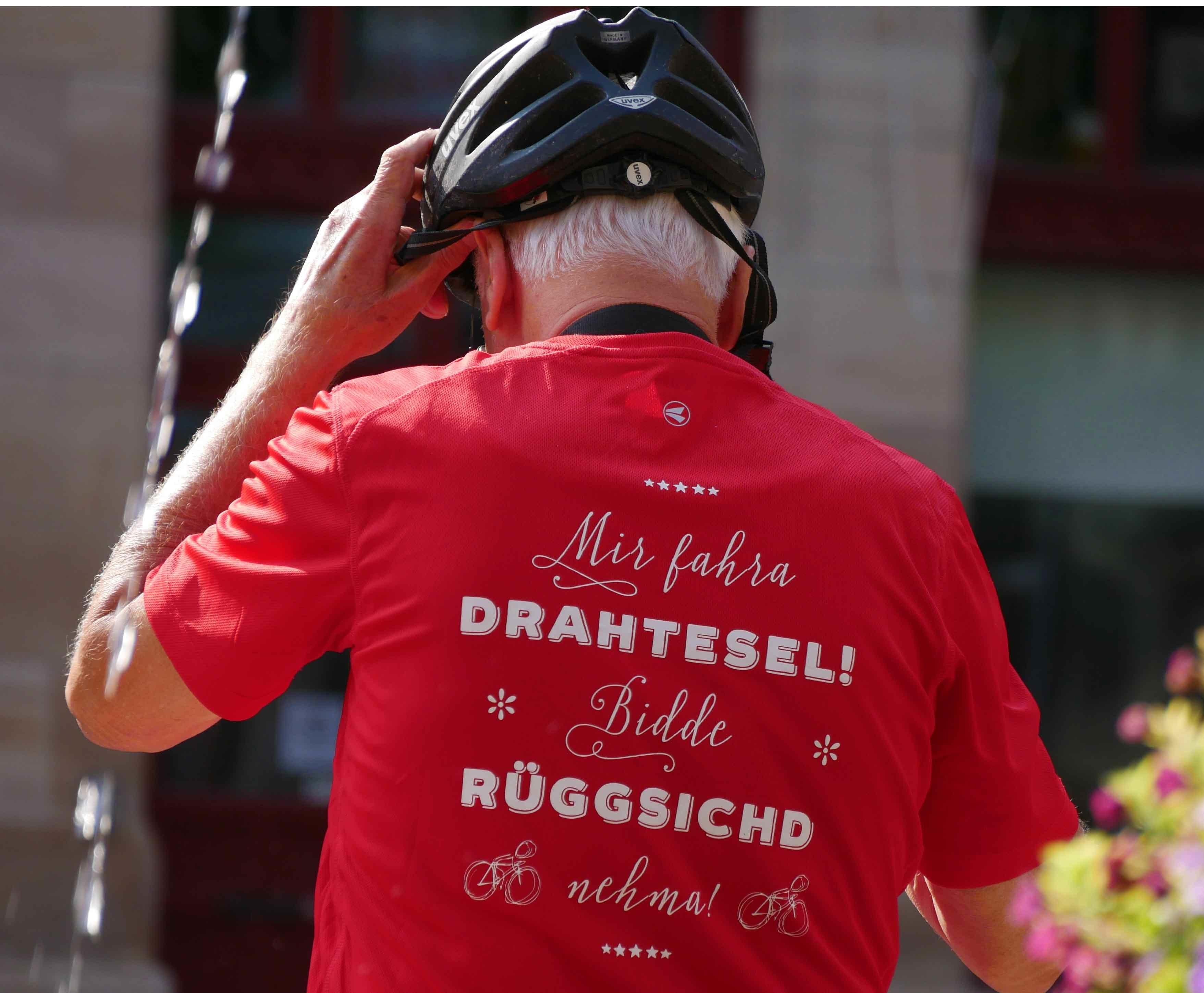 Mit dem Fahrrad in Tübingen