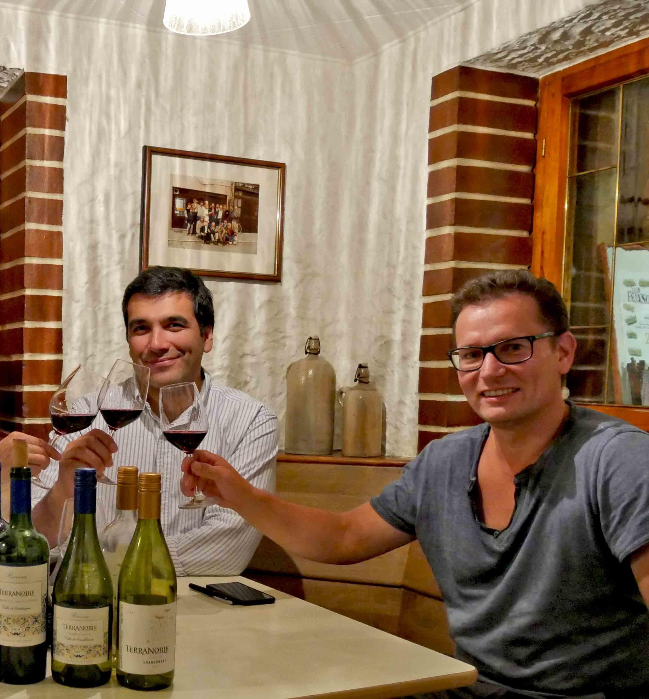 In einer Tübinger Weinstube