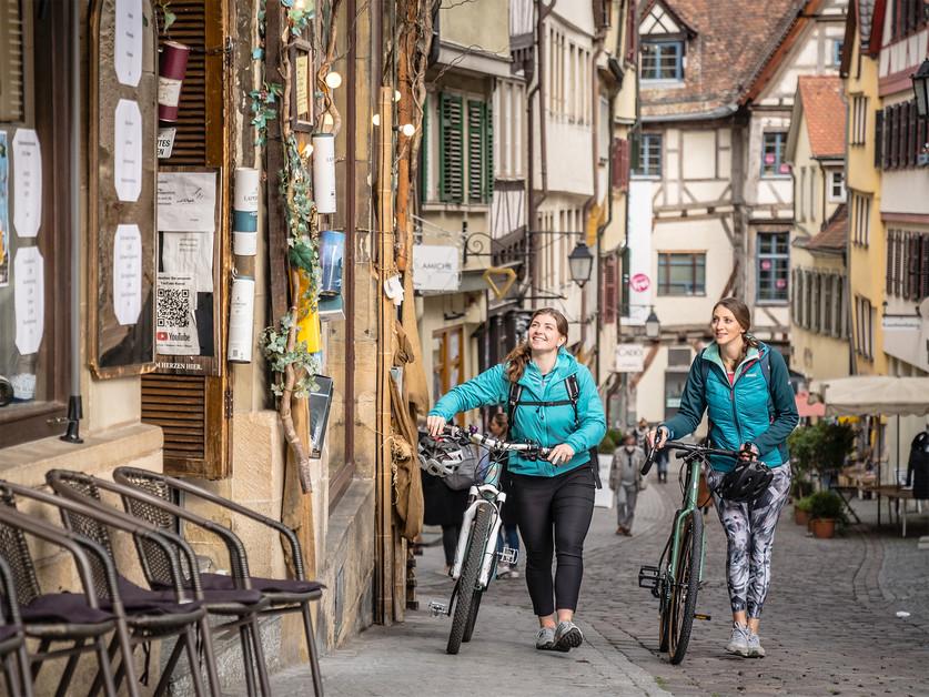 Marktgasse Tübingen   tuebingen-info.de