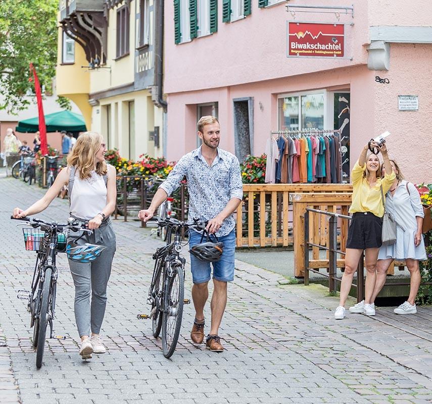 Fahrradfahren in Tübingen