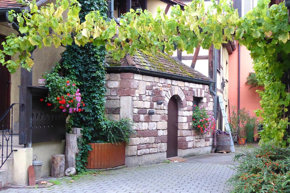 In der Unterstadt von Tübingen