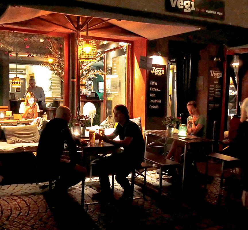 Nightlife in Tübingens Altstadt