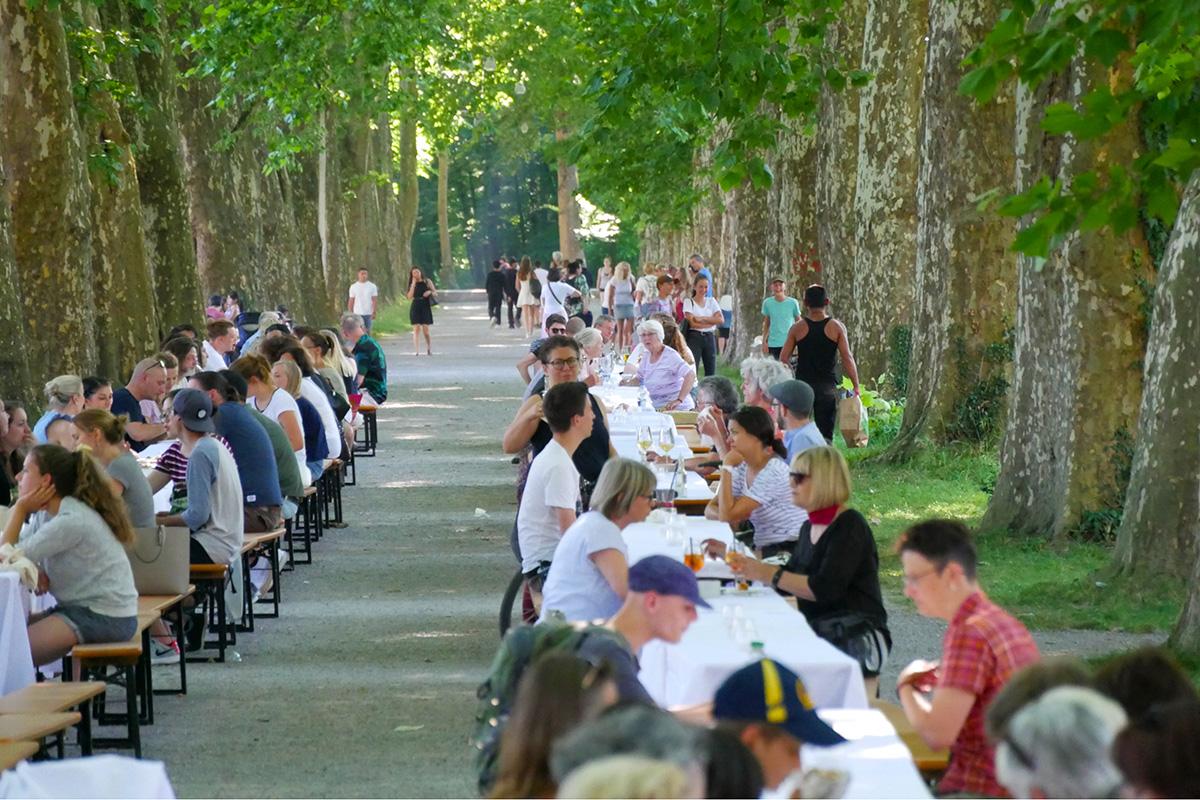 Kulinarisches Gastronomiefestival in Tübingen