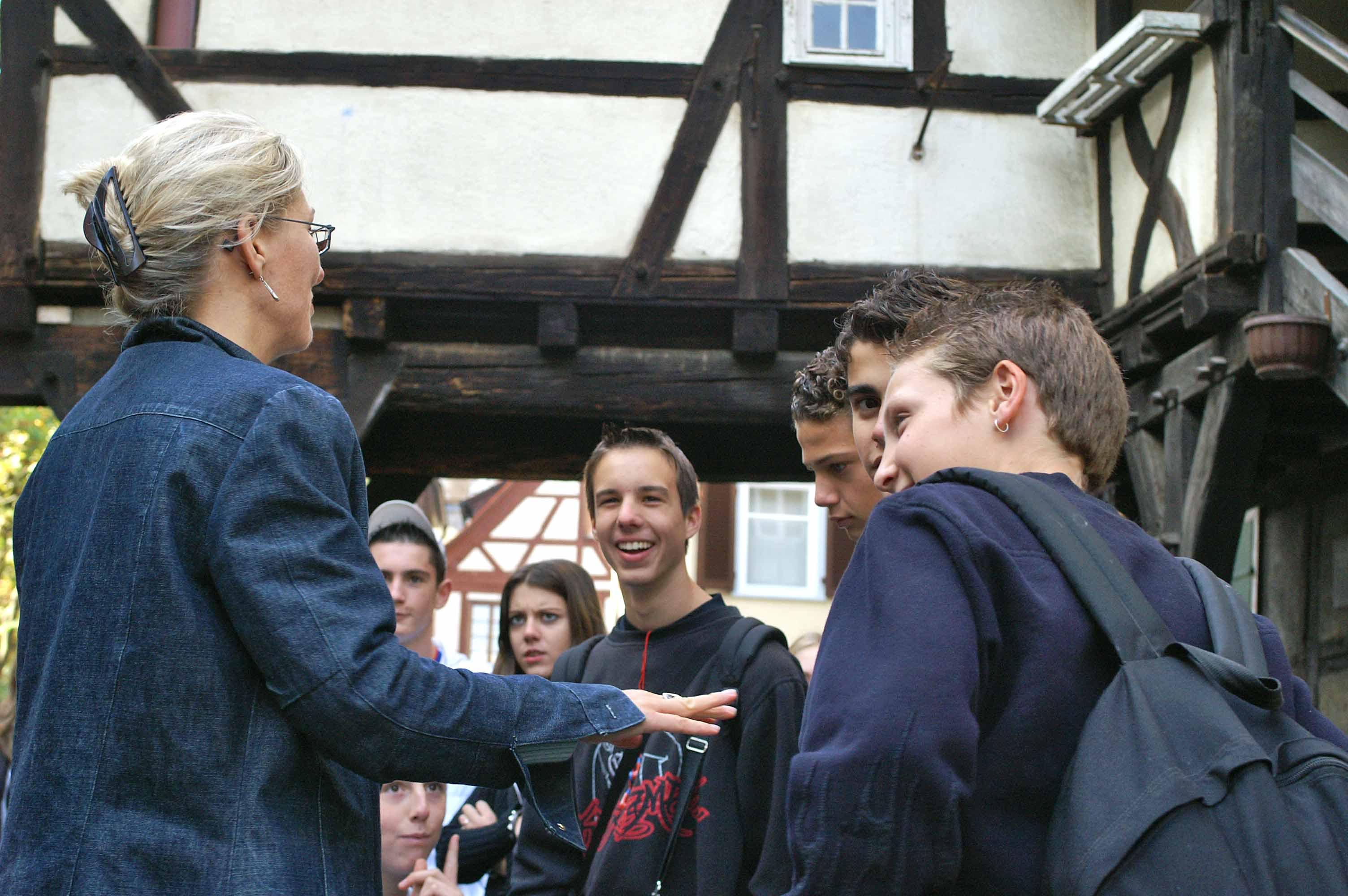 Altstadtführung für Schüler