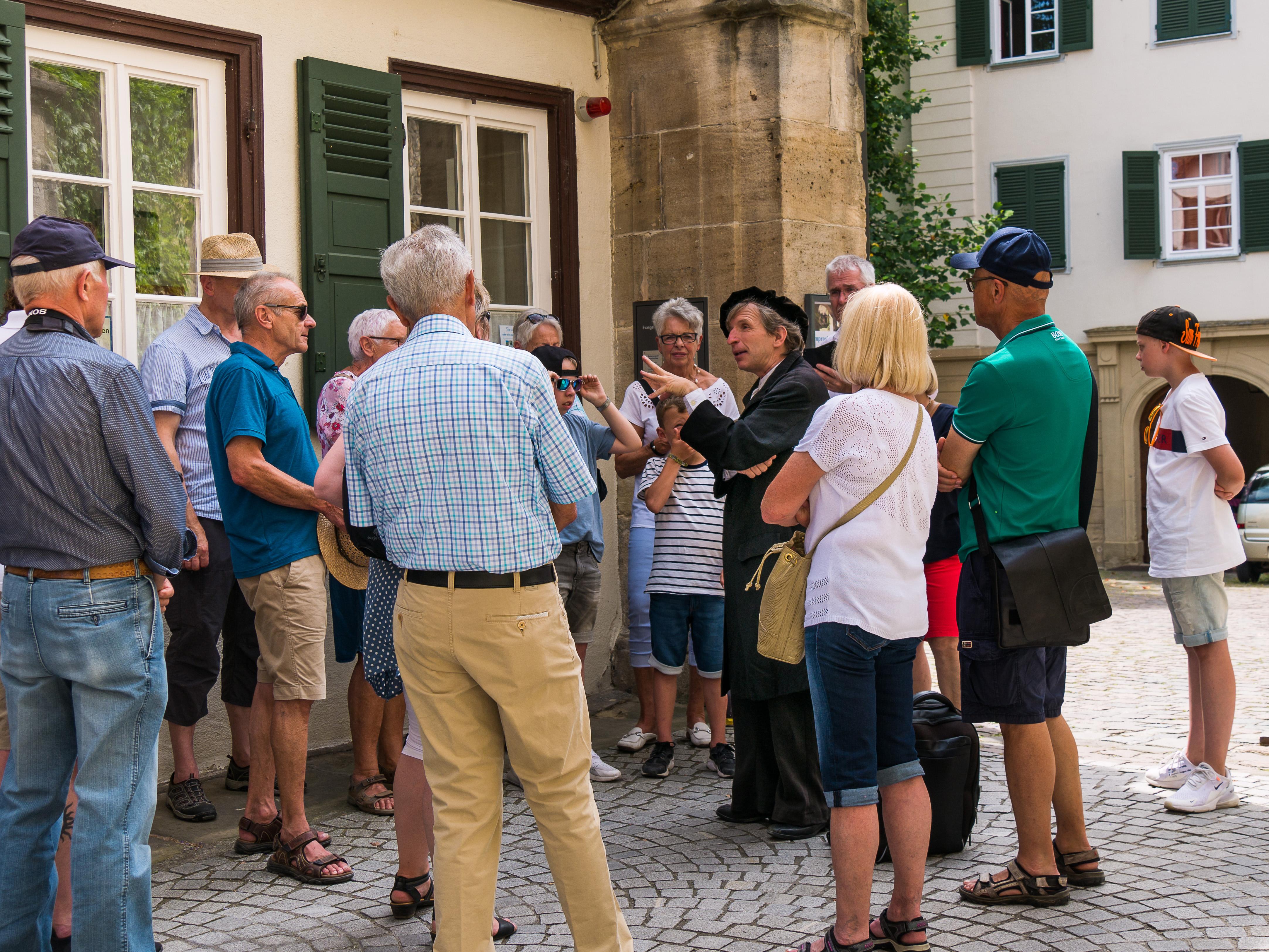 Stadtführung in Tübingen