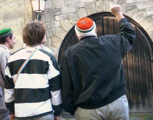 Führung zu Verbindungshäusern in Tübingen