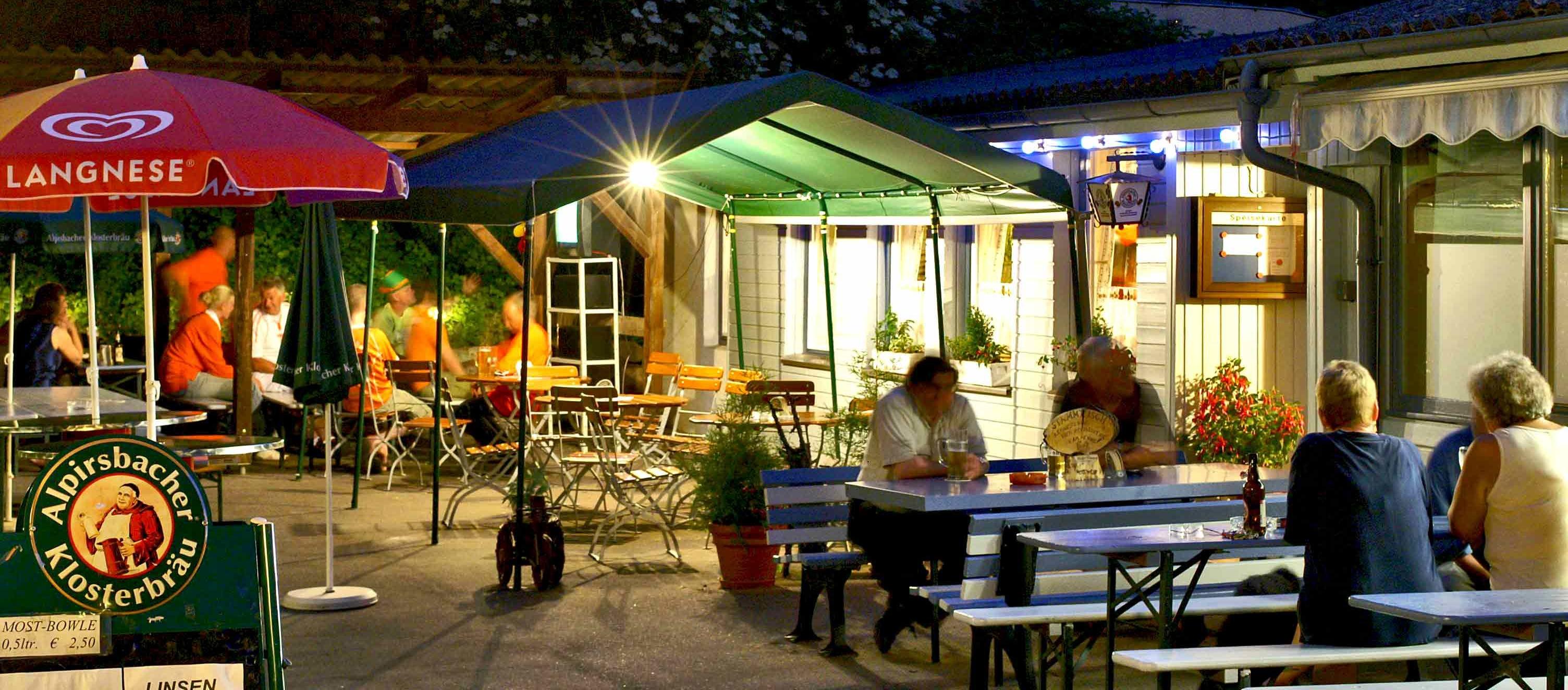 Neckarcamping Tübingen Campingklause