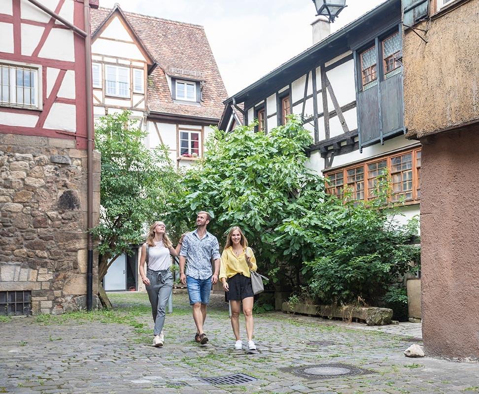 Tübingen zu Fuß