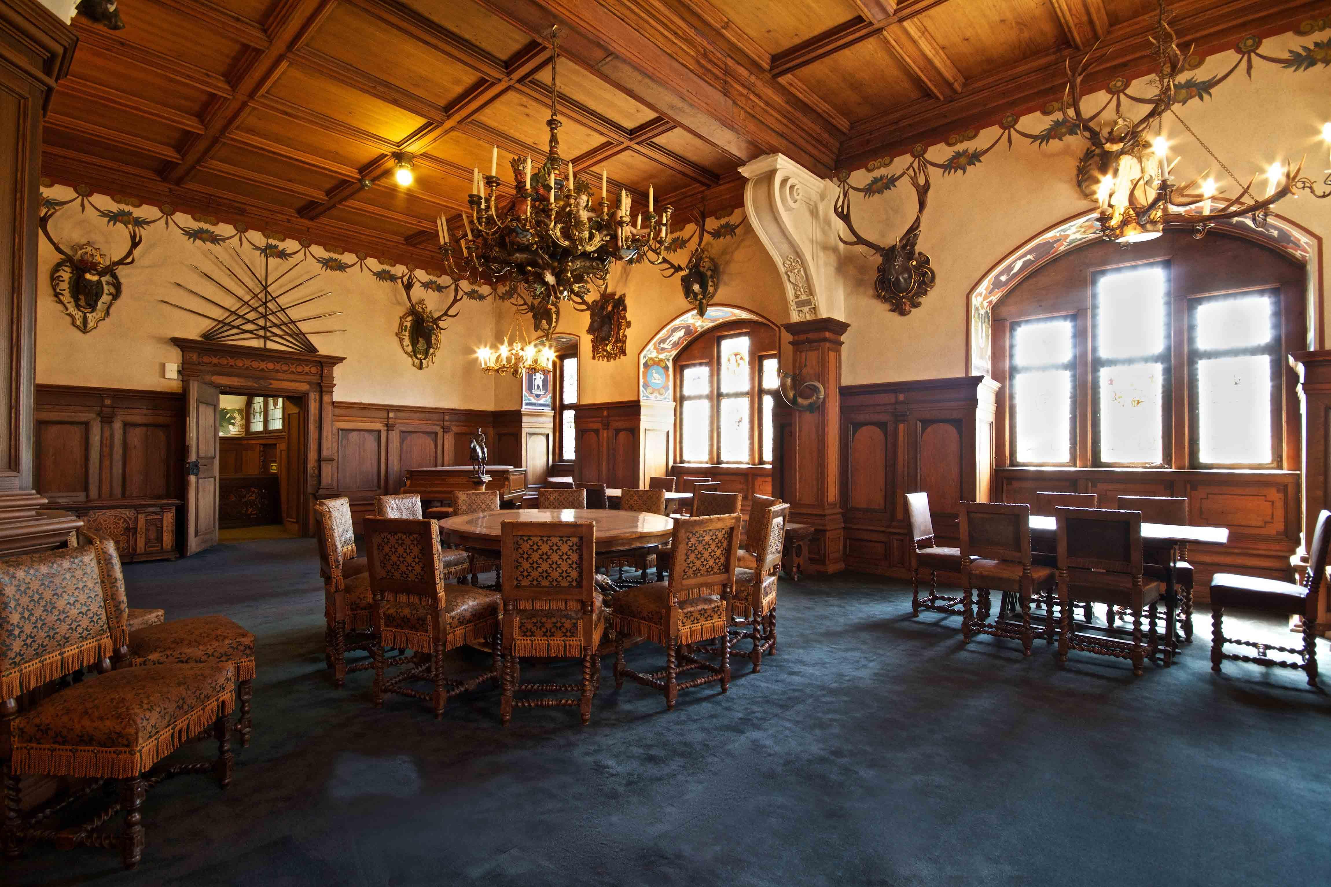 Blauer Saal Schloss Bebenhausen