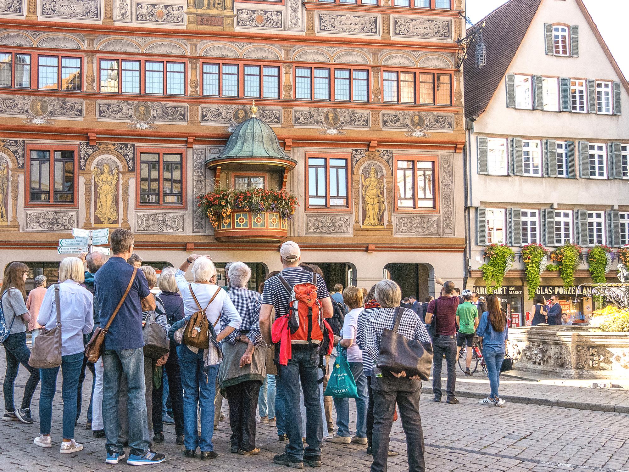Stadtführung durch Tübingen