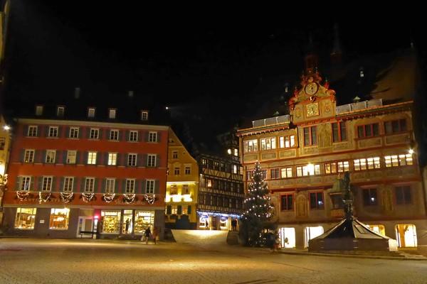 Weihnachtliches Tübingen mit Glühwein