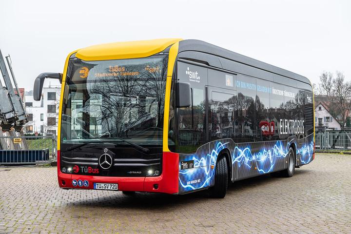 Elekrtro-Stadtbus Tübingen