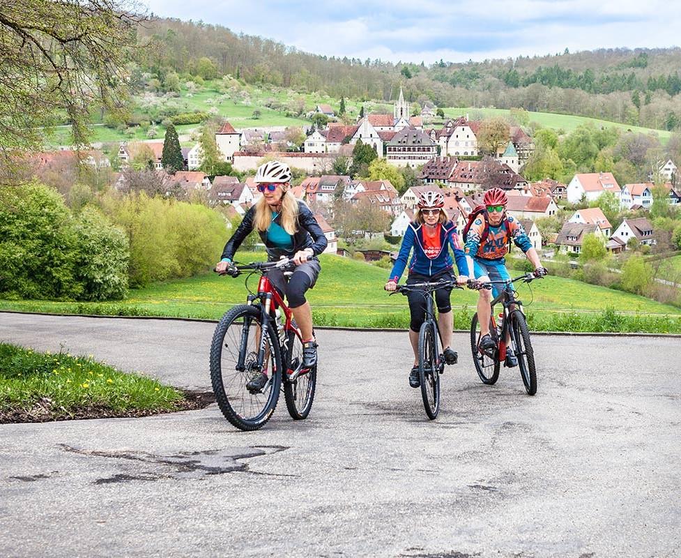 Fahrradtour bei Bebenhausen im Naturpark Schönbuch