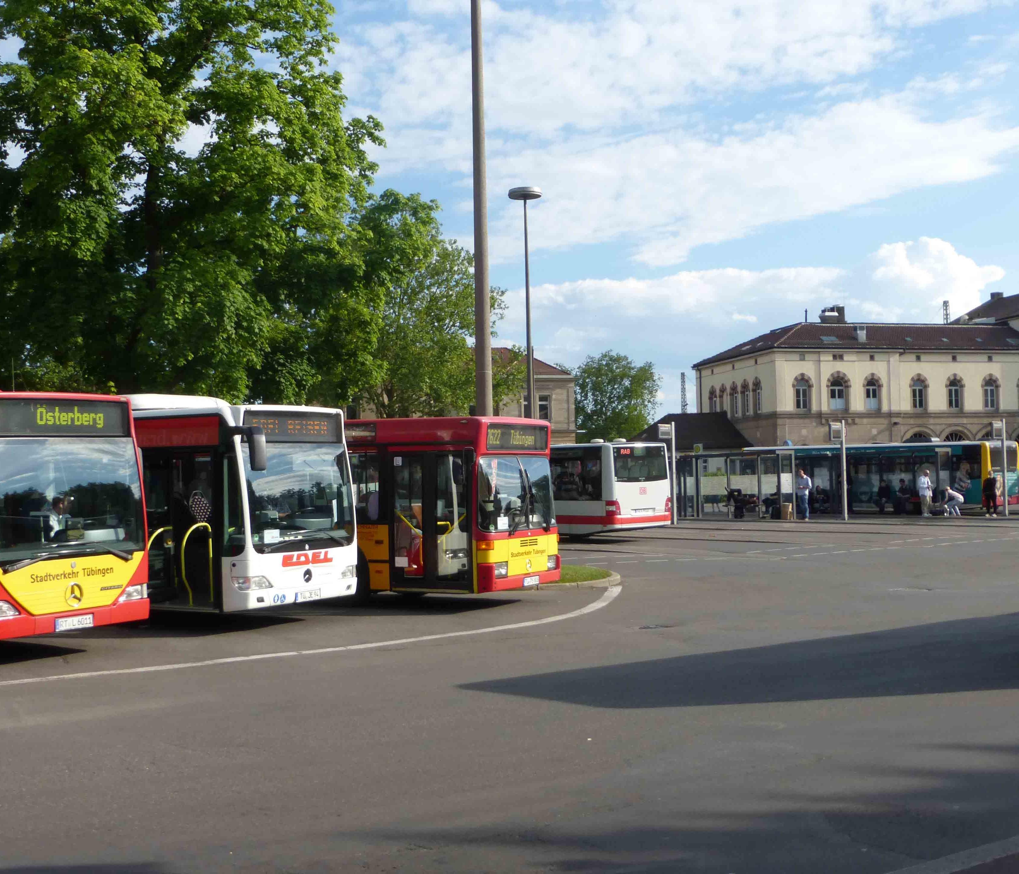 Busbahnhof Tübingen