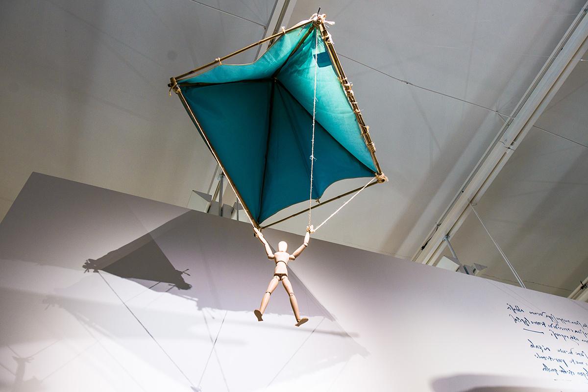 Ausstellung Ex-Machina: Leonardo da Vinci und seine Maschinen