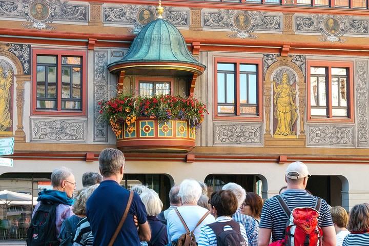 Stadtführung und Rathaus in Tübingen