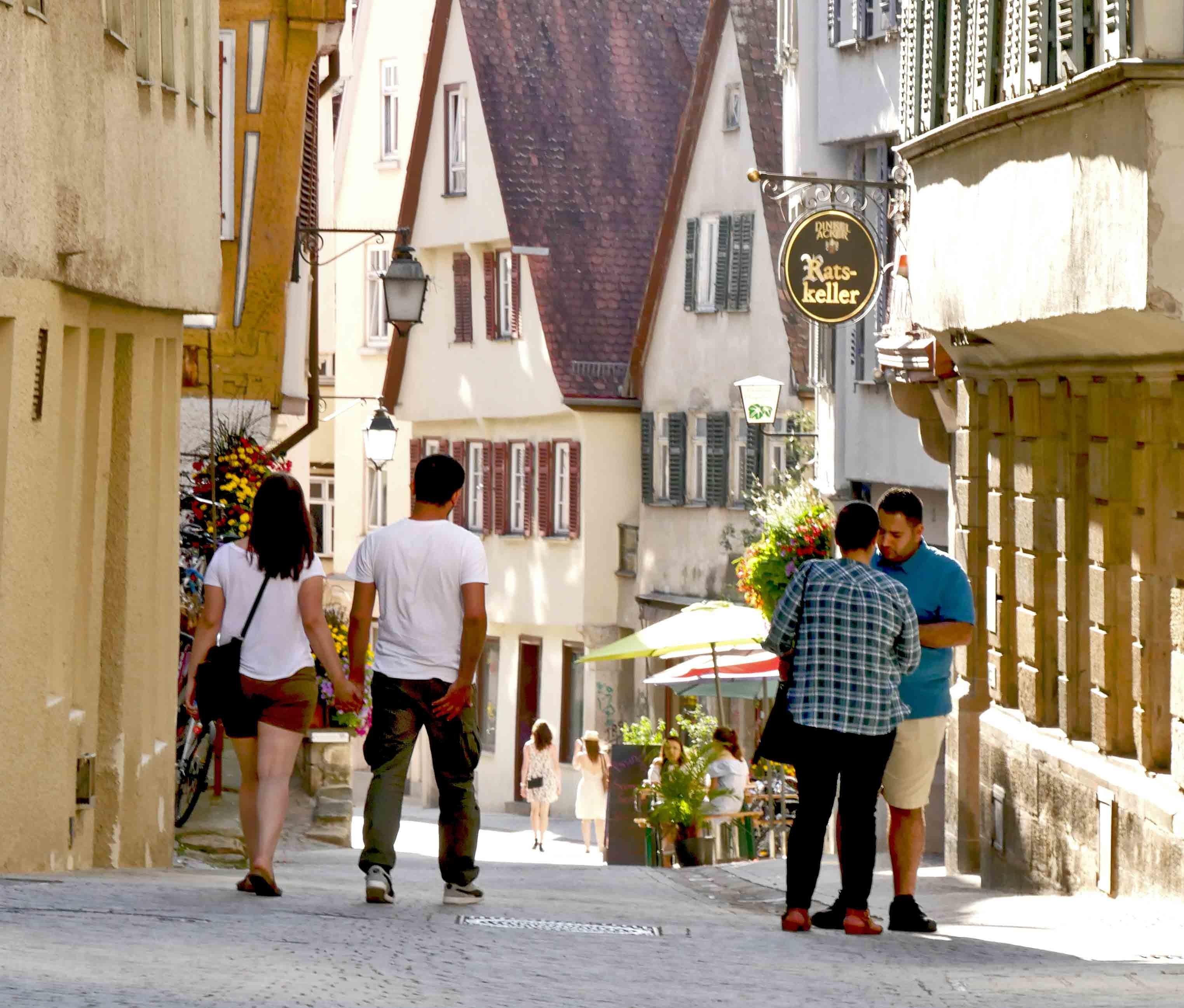 Zu Fuß durch Tübingens Altstadt