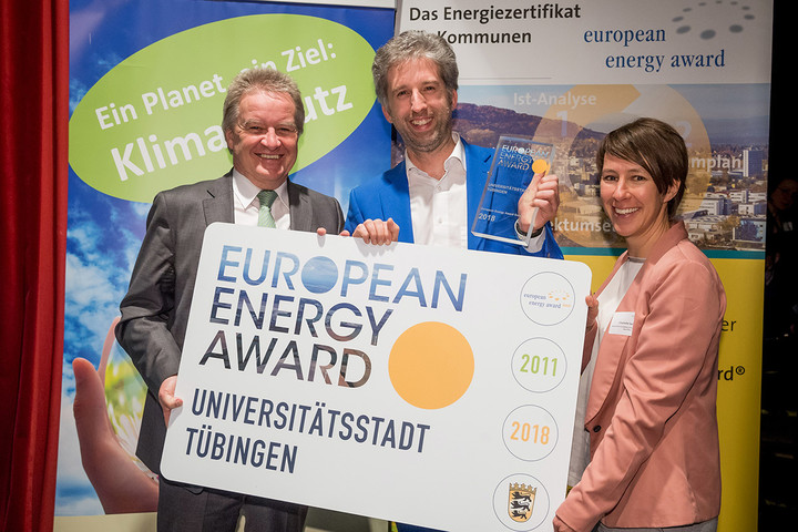 Auszeichnung mit dem European Energy Award