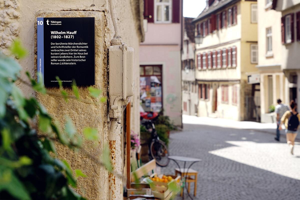 Der Tübinger Literaturpfad